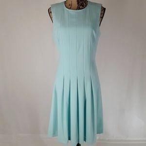 Calvin Klein   Aqua Fit & Flare Sheath Dress (10)
